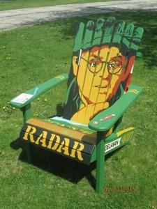 Gary Burghoff Chair
